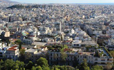 Город Афины, Греция