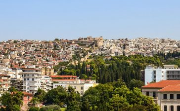 Город Салоники, Греция