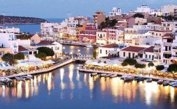 Погода в Греции в январе.