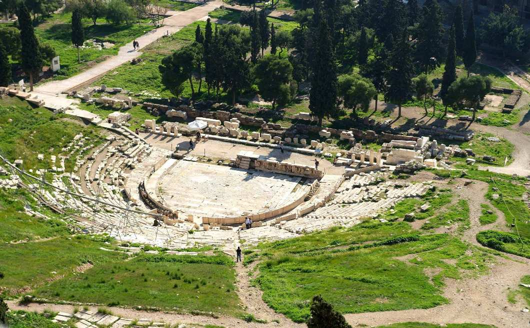 Театр в Древней Греции