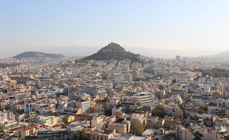 Погода в Афинах в мае