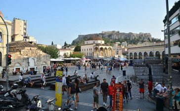 Погода в Греции в октябре. Температура воды и воздуха