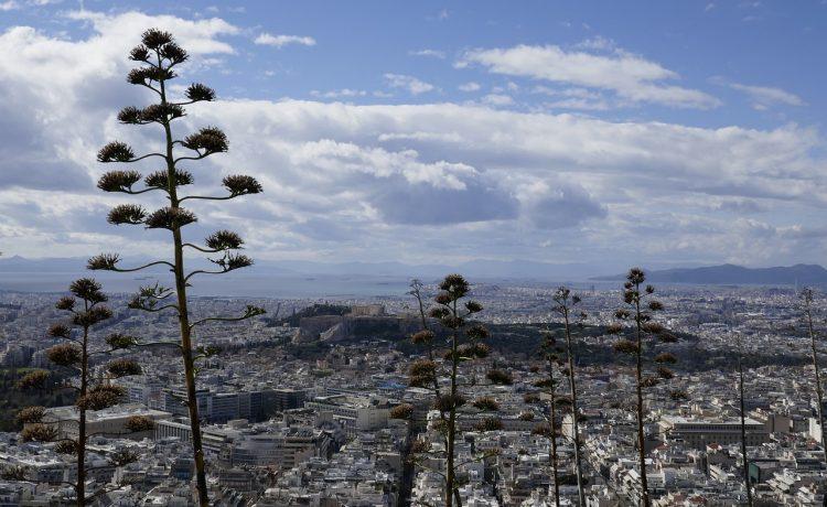 Погода в Афинах в феврале