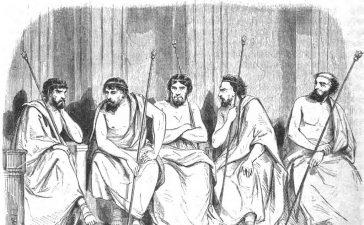 Эфоры в Древней Спарте